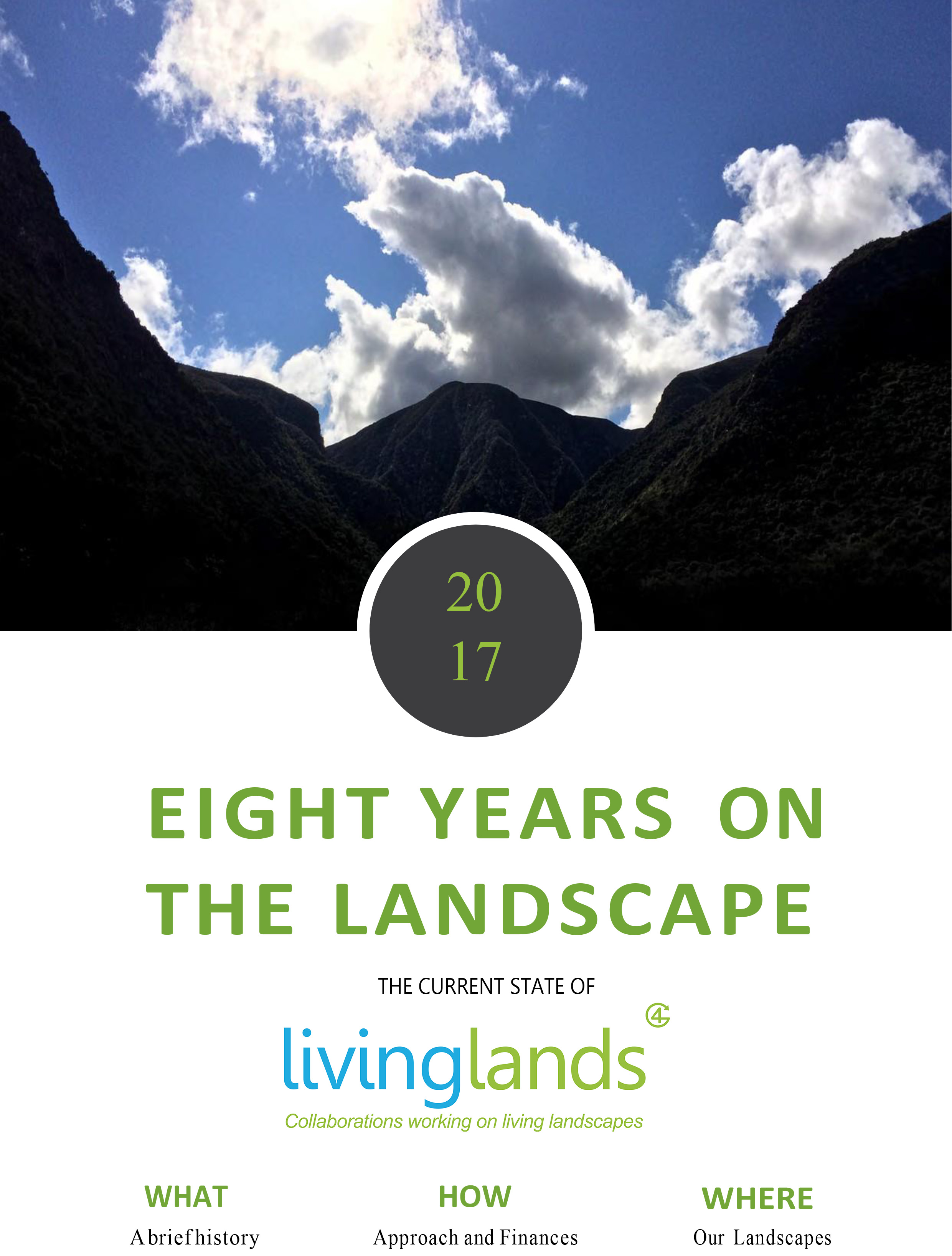 8 Years on the Landscape